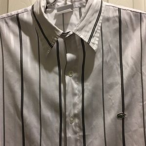 Men's Lacoste Dress Shirt Size S